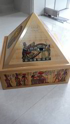 Wooden Pyramid Cash Box Drawer
