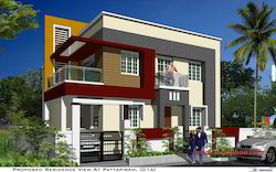 FRONT ELEVATION - Weather Proof Tiles Service Provider from Chennai
