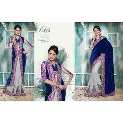 Velvet Designer Saree