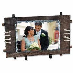 Sublimation Wedding Couple Photo Rocks