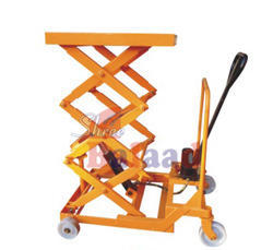Manual Lift Table With Wheel