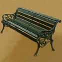 George VC Cast Iron Garden Bench