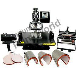 Heat transfer machines 5 in 1 hot press machine for T shirt manufacturing machine in india