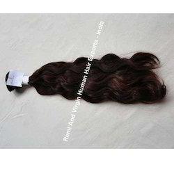 Indian Human Hair Machine Wefts