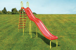 Outdoor Children Wave Slide