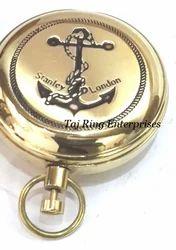 Brass Stanley London Compass