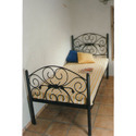 Wrought Iron Fabricated Bed