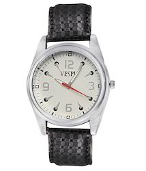 VESPL Spartan White Dial Analog Men's Watch-VS121