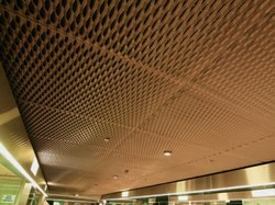 expanded metal false ceiling