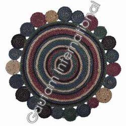 Multicolor Braided Rugs