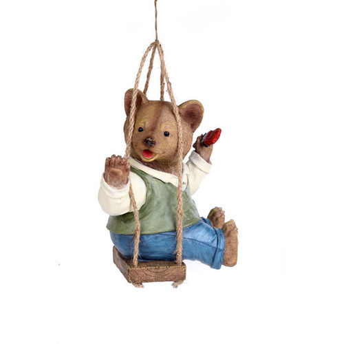 brown bear garden decor  view garden decor from wonderland garden, Garden idea