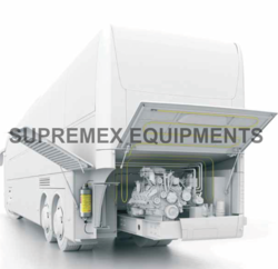 Vehicle Engine Fire Suppression System