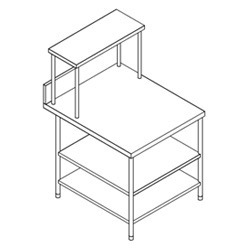 S.s.Side Table 2 U/s & Ohs