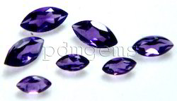 Amethyst Faceted Marquise Gemstone