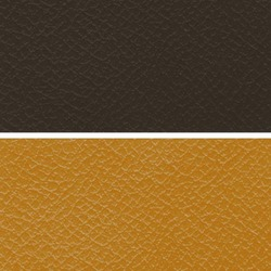 Brown Manmade Leather Cloth