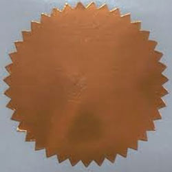 Copper Foils Seals