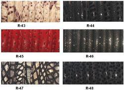 Reptile Stitched Leather Cord