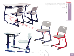 Gen-X - Campus, Voyager Educational Tables And Chairs