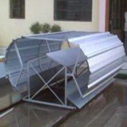 Turbo Roof Ventilating System Industrial Ridge