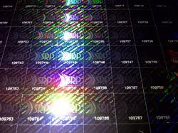 Holographic With Numbering