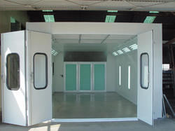 End Draft type Paint Booth System