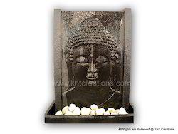 Stone Carved Buddha Waterfalls