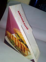 Multicolor Printed Sandwich Boxes