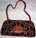 Zari Embroidery Hanging Handbags