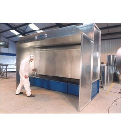 Water Curtain type Paint Booth