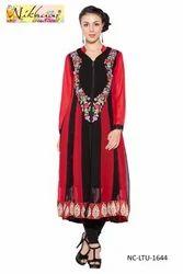 Designer Formal Western Casual Long Ladies Dress Suits