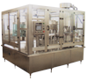 Automatic Rotary Bottle Rinsing, Filling and Cap Sealing Line with Gravity Filler