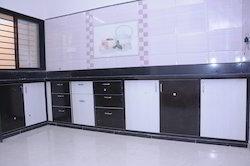 Modular PVC Kitchen Cabinet