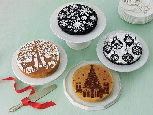 Cake Decoration/Cake Stencils