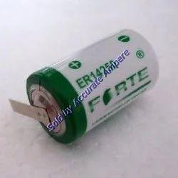 Forte Er 14250 3.6v 1/2 AA Lithium Lisocl2 Battery