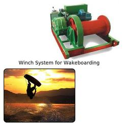 Winch System for Wakeboarding