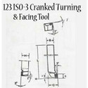 Cranked Turning Tool