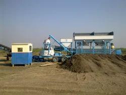 Mobile Concrete Semi Batching Plant