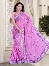 Fancy Partywear Designs Sarees
