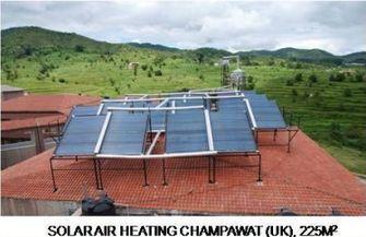 Solar Air Heating Champawat