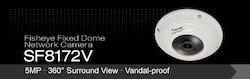 5MP Surround View Vandal-proof Fisheye Network Cameras