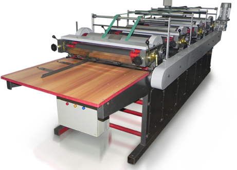 Non Woven D-Cut Bag Flexographic Printing Machine - 4 Colour