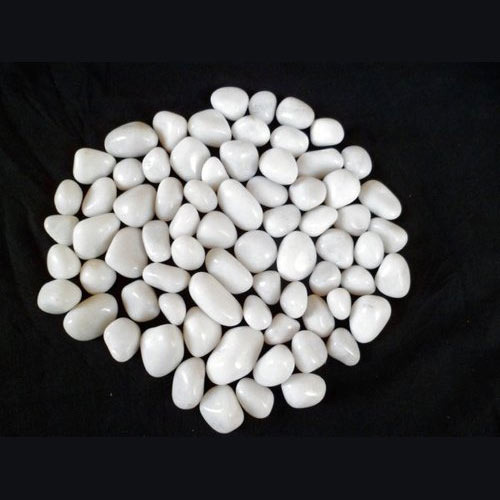 White Agate Tumbled Pebbles