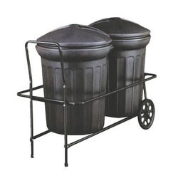 Two Wheel Garbage Hand Carts