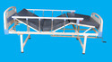 Double Manual Crank Cot with Mattress