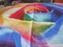 Plain Printed Woolen Stole