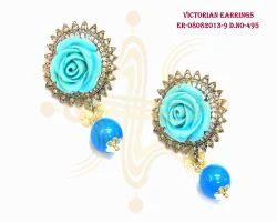 Beautiful Flower Shaped Earrings