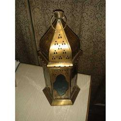 Lantern-Gold Antique Finish