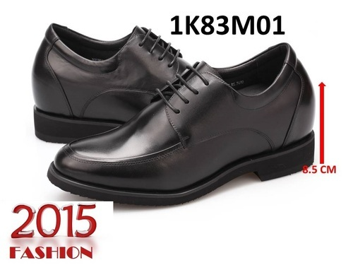 Elevator Heightening Formal Shoes With Inbuilt Heel Liftmens