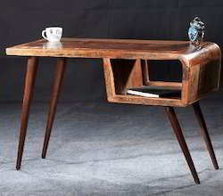 Recycled Wood Retro Style Office Writing Desk