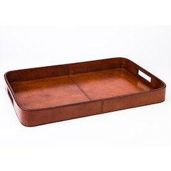 Classic Leather Tray